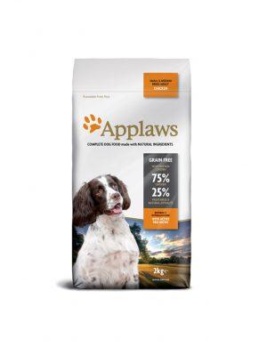 Applaws chien – Poulet – petits et moyens